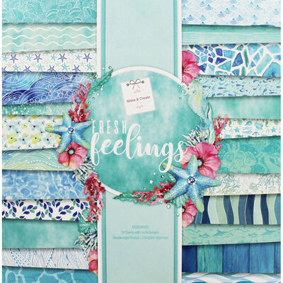 Fresh Feelings Design Pad - 12x12 Inches image number 1