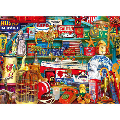 Country Antiques 500 Piece Jigsaw Puzzle image number 2