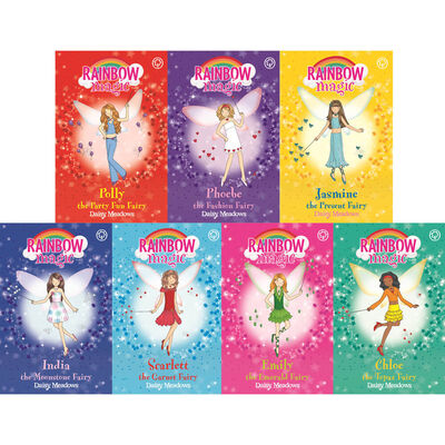 Rainbow Magic Glittering Fairies: 14 Book Collection image number 2