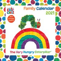 The Hungry Caterpillar Square Wall Planner 2021