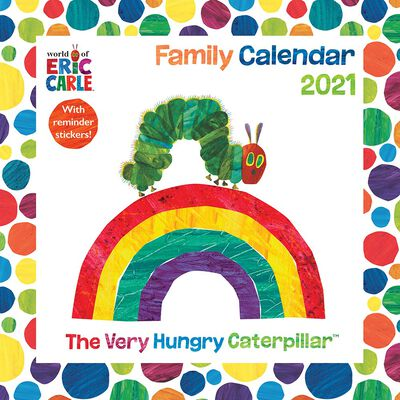 The Hungry Caterpillar Square Wall Planner 2021 image number 1