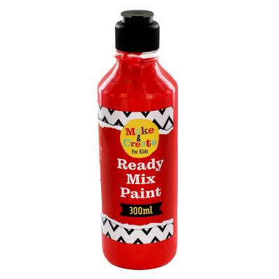 Red Readymix Paint - 300ml image number 1