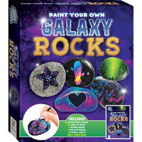 Paint Your Own Galaxy Rocks