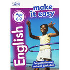 Letts Make It Easy English: Ages 8-9 image number 1