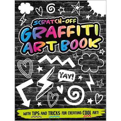Scratch-Off Graffiti Art Kit image number 2