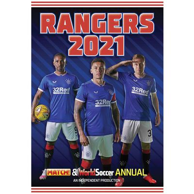 The MATCH! Rangers Annual 2021 image number 1