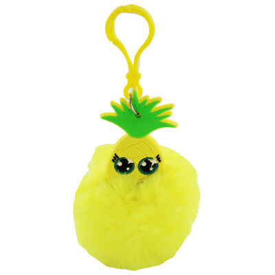 Fruitopia Scented Pom-Pom Key Chain - Assorted image number 4