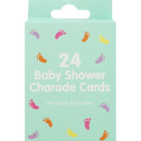 Baby Shower Charade Cards - Pack of 24