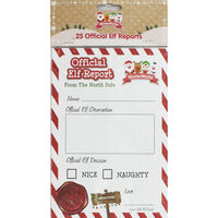 Official Elf Reports: Pack of 25