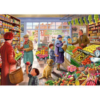 Greengrocers 500 Piece Jigsaw Puzzle