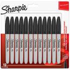 Sharpie Markers 12pk Black image number 1