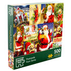 Postcards from Santa 500 Piece Jigsaw Puzzle image number 1