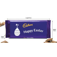 Cadbury Dairy Milk Chocolate Bar 110g – Happy Easter
