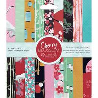 Cherry Blossom Paper Pad 6 x 6 Inch