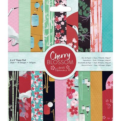 6x6 Paper Pad Cherry Blossom image number 1
