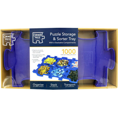 Jigsaw Puzzle Storage and Sorter Tray image number 2