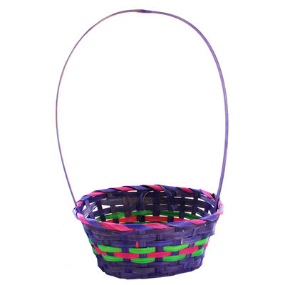 Woven Easter Baskets - Assorted image number 4