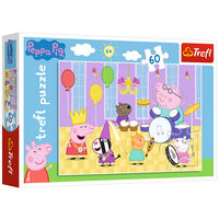 Peppa Pig at the Ball 60 Piece Jigsaw Puzzle