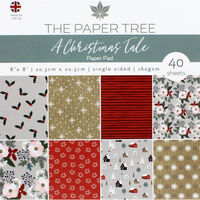 A Christmas Tale Paper Pad - 8x8 Inch