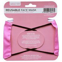 Pink Reusable Face Mask