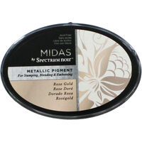 Midas by Spectrum Noir Metallic Pigment Inkpad - Rose Gold