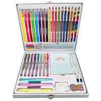 Rainbow Stationery Set: 56 Piece