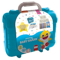 Baby Shark Activity Stamp Set Travel Case