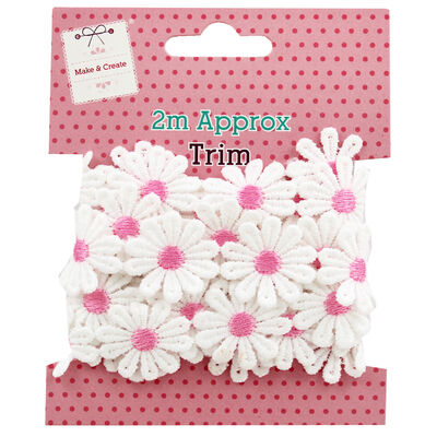 2m Daisy Chain Trim - Assorted image number 1