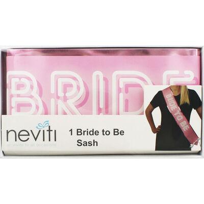 Pink Bride Squad Bride to Be Sash image number 1