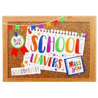 Leavers Book Pinboard