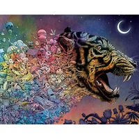 Animorphia Tiger in the Night 1000 Piece Jigsaw Puzzle