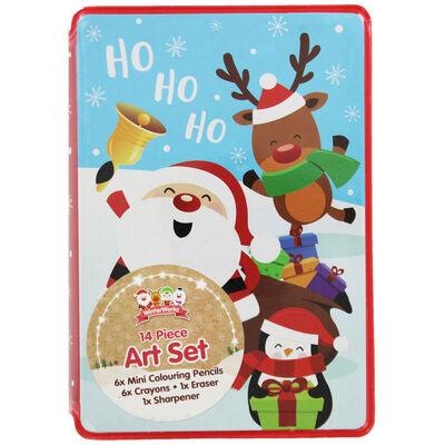 Christmas Mini Art Set