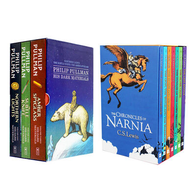 His Dark Materials and The Chronicles of Narnia - 2 Book Box Set Bundle image number 1