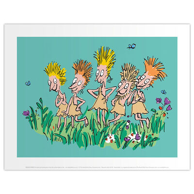 Roald Dahl Charlie and the Chocolate Factory Oompa Loompas Print image number 1