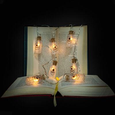 Harry Potter LED Glass Bottle Lights image number 2