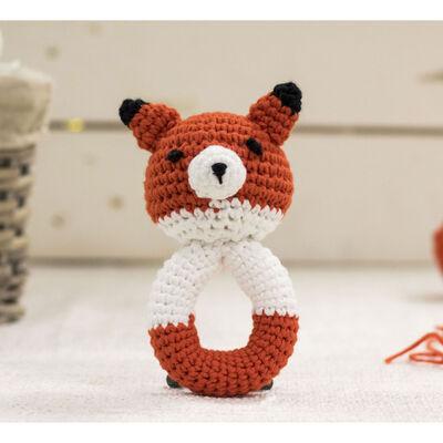 Cute Companions Miniature Handheld Crochet Kit - Fin the Fox image number 2