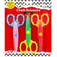 Craft Scissors - 3 Pack