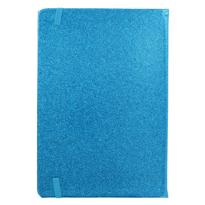 A5 Blue Glitter Cased Lined Journal image number 4