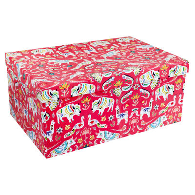Mexicana Party 10 Nested Gift Boxes Set image number 1