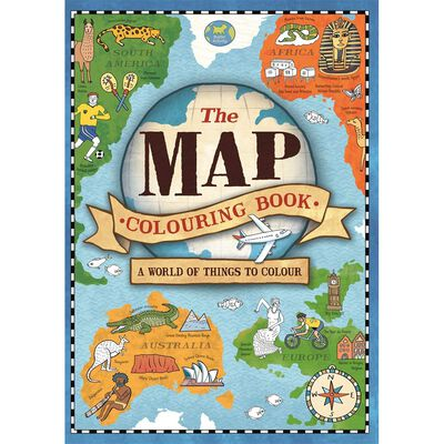 The Map Colouring Book image number 1