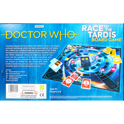 Doctor Who Race to the Tardis Board Game image number 4