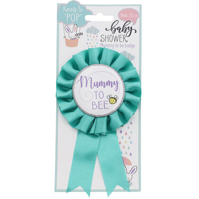 Baby Shower: Mummy To Bee Badge image number 1