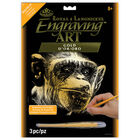 A4 Engraving Art Set: Almost Human Ape image number 1
