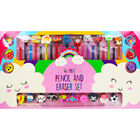 46 Piece Pencil and Eraser Set image number 2
