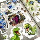LEGO Jurassic World: 1001 Stickers Amazing Dinosaurs image number 3