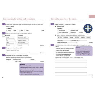 AQA GCSE Chemistry (9-1) Grade 5 Booster Workbook image number 2