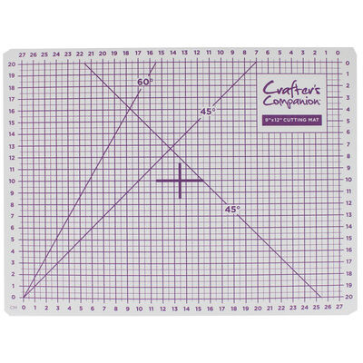 Crafters Companion Self Healing Cutting Mat - 12x9 Inch image number 2