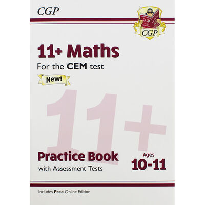 CGP 11+ Maths: Practice Book with Assessment Tests image number 1