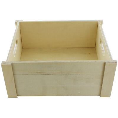 Wooden Crate Hamper image number 2