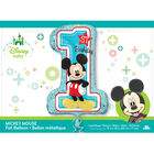 28 Inch Mickey Mouse 1st Birthday Helium Balloon image number 2